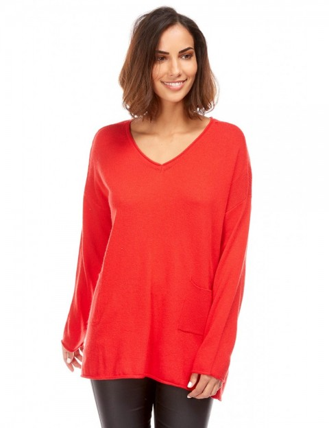 Pull maille fine oversize ACTUMODE