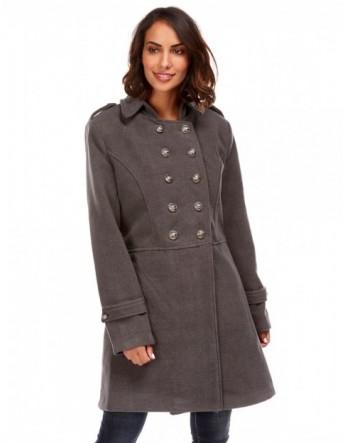 Manteau militaire - Anthracite