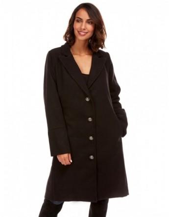 Manteau long militaire - noir