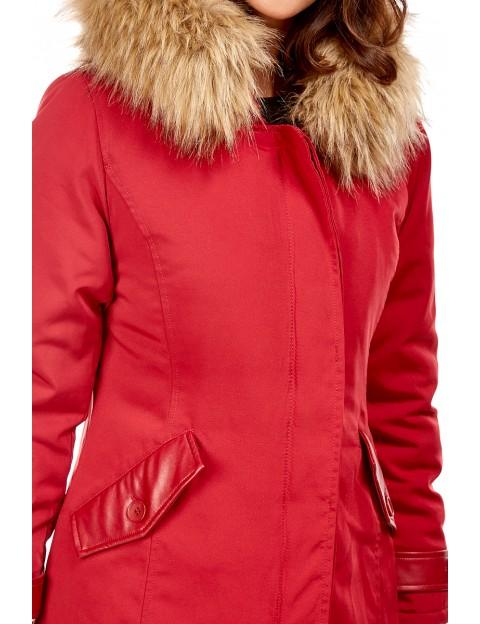 Parka - rouge Le Comptoir du Manteau