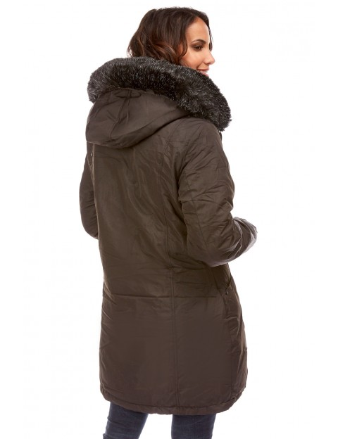doudoune Clarisse - noir Le Comptoir du Manteau