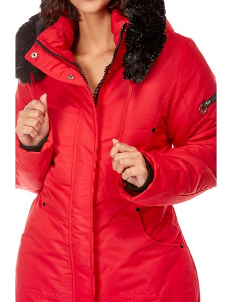 doudoune Clarisse - rouge