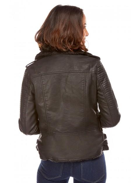 Veste motard - noir Manon Bastille