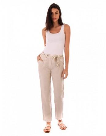 Pantalon Lucie Lin Beige Lin Passion