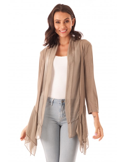 Gilet Naelle Taupe