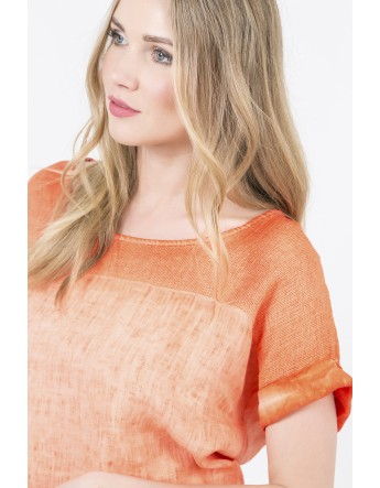 TOP INES ORANGE Jean Louis Scherrer Les essentielles