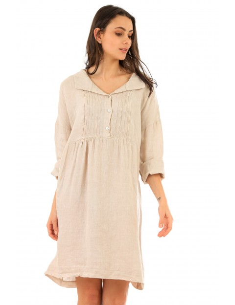 ROBE CHELSEA LIN BEIGE Lin Passion