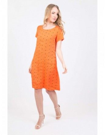 ROBE NELLY ORANGE