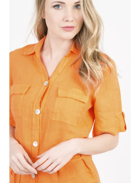 ROBE Joanna ORANGE ACTUMODE