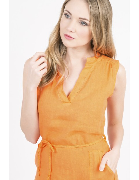 ROBE Carola ORANGE ACTUMODE