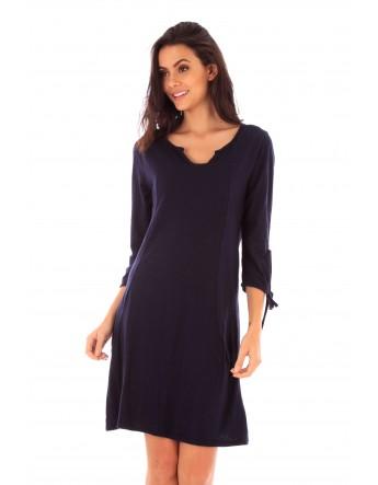 Robe Lana marine en coton Fille de Coton