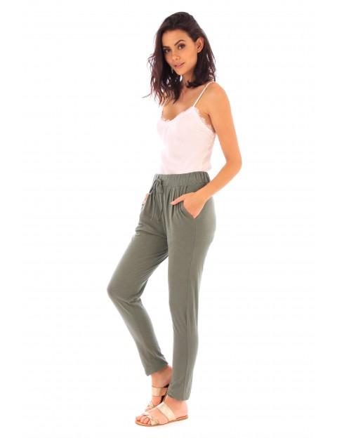 Pantalon Adle kaki en coton Fille de Coton