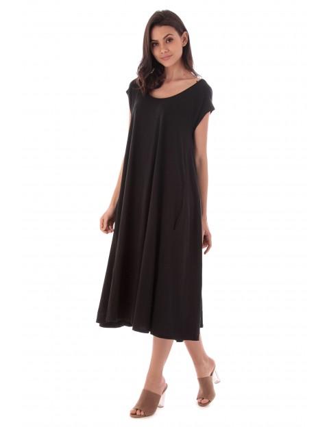 Robe Lila noir en coton Fille de Coton