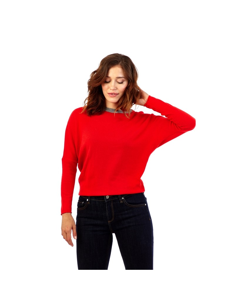 Pull maille fine col rond ACTUMODE