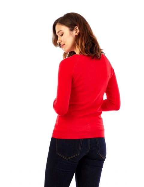 Pull col rond échancré sur les épaules ACTUMODE