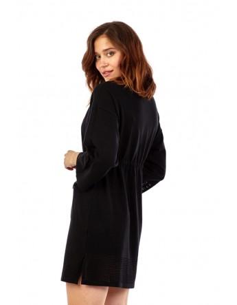 Robe pull avec deux poches