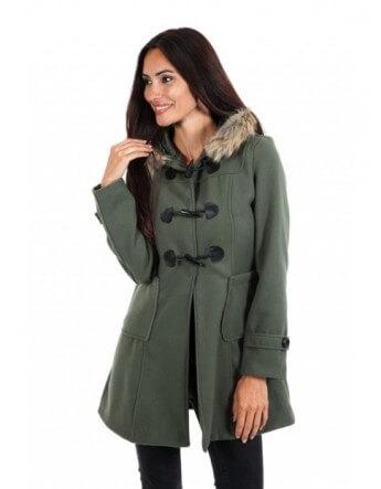 Duffle coat kaki Le Comptoir du Manteau