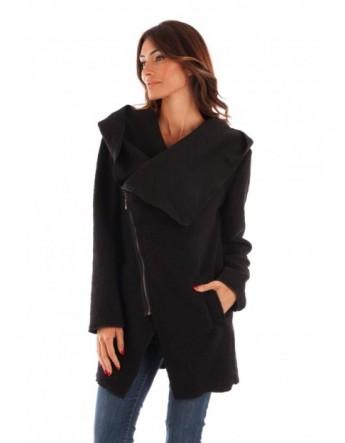 Manteau à capuche-Noir