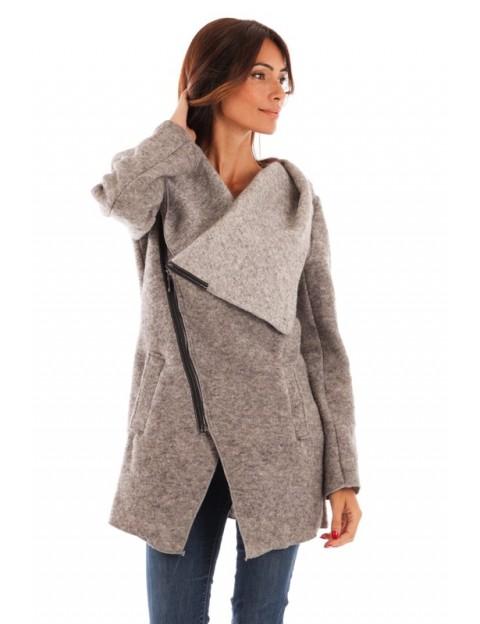 Manteau à capuche-GRIS_CLAIR